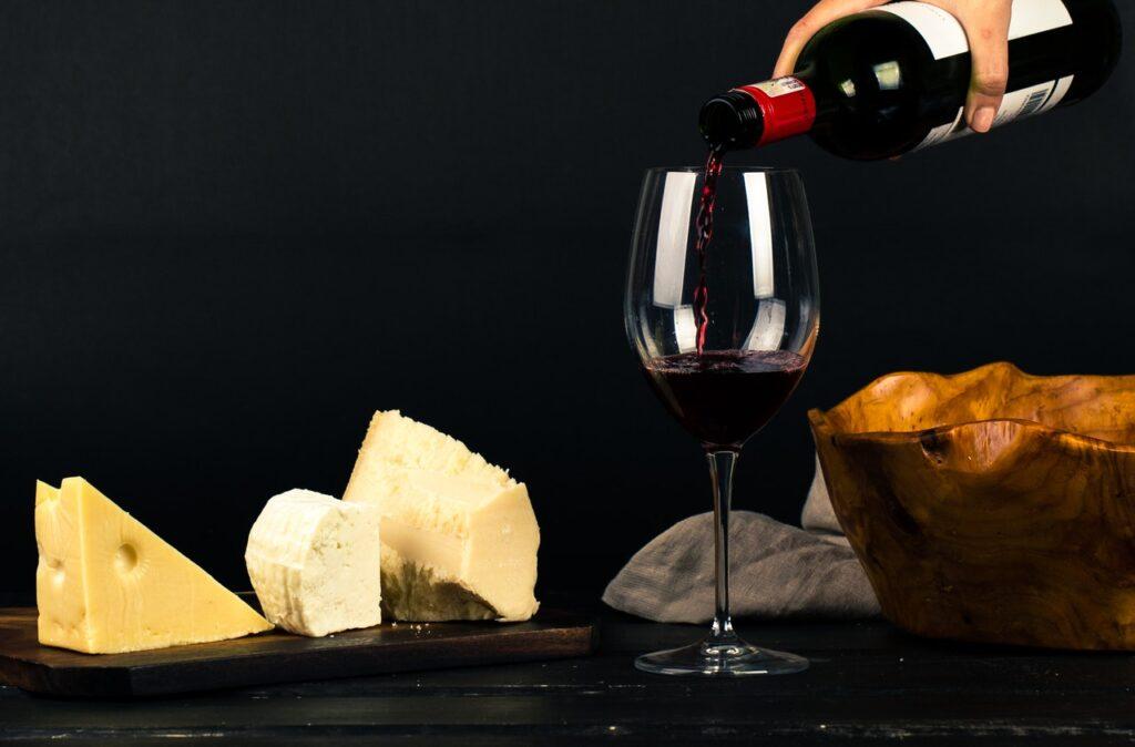 vin et fromages